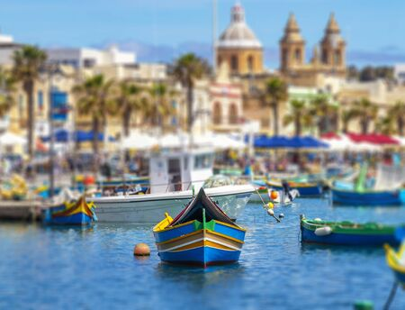 Marsaxlokk is a small, traditional fishing village in the South Eastern Region of Malta. It has a harbour, and is a tourist attraction known for its views, fishermen and eyed boats or luzzu boat