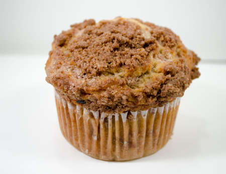 Isolated Muffin white background photo