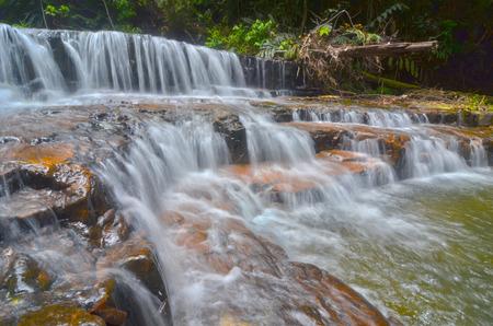 pahang: Atas Pelangi Waterfall in Pahang, Malaysia