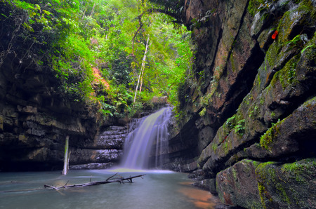 pahang: Batu Kawah Waterfall in Pahang, Malaysia