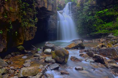 pahang: Tebing Tinggi Waterfall in Pahang, Malaysia