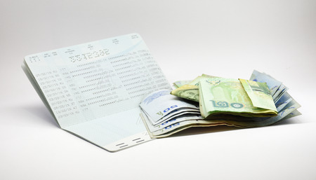 Isolated saving account passbook