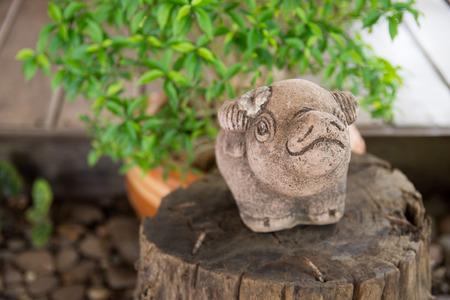 Elephant Sculpture in the garden