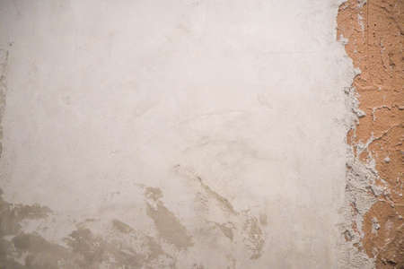 Gray and light brown cement wall background picture