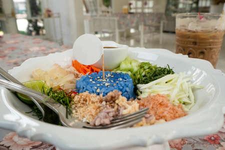 Thai food called Khao Yam