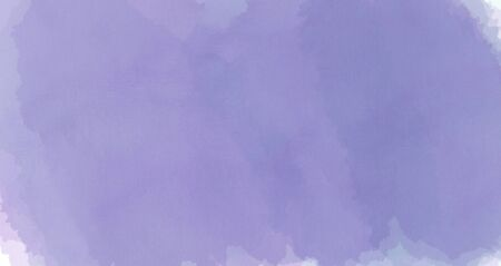 Violet watercolor abstract background. Beautiful spreading paint on white watercolor paper. Hand painting. Picture for desktop, design or greeting card. Stockfoto