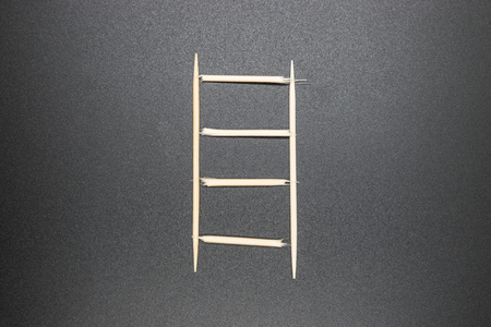 toothpick: Toothpick, ladder concept Stock Photo