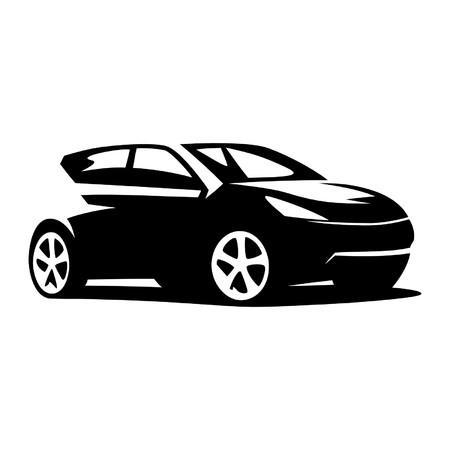 automobiles: Modern car vector Illustration