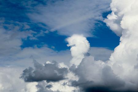 cloude: Clouds shaped like a fist