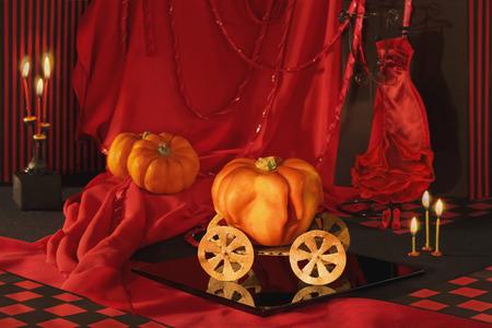 The carriage again became a pumpkin