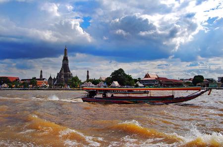 chao phraya: Chao Phraya Stock Photo