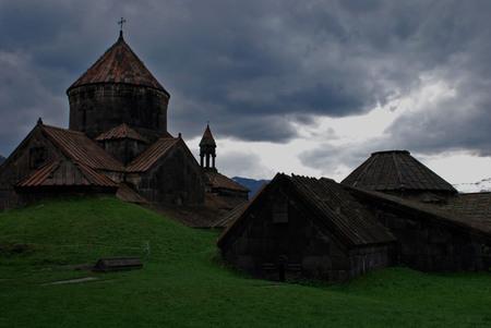 monastery: Armenian monastery Stock Photo