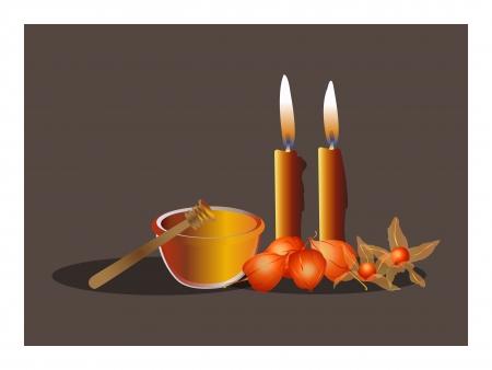 zeitlos: Herbst-Zeit Illustration