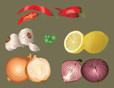 Distinctive flavor Ilustração