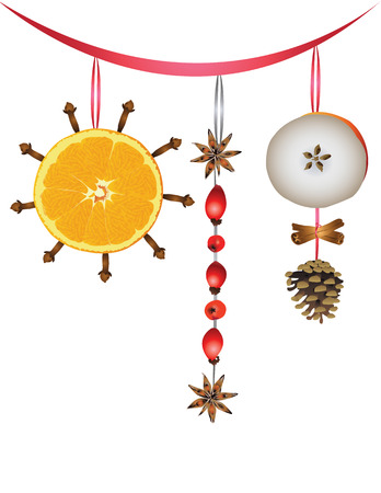christmas scent: Christmas scent Illustration