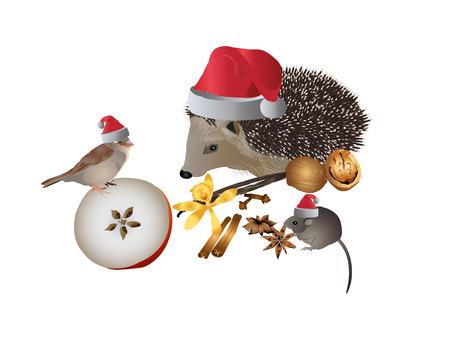 adventskranz: Weihnachtsfeier
