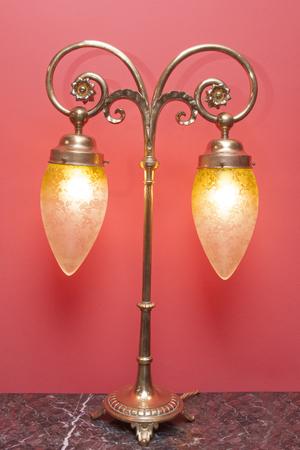 Art Nouveau lamp 写真素材