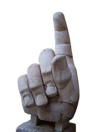 La main droite du Colosse de Constantine