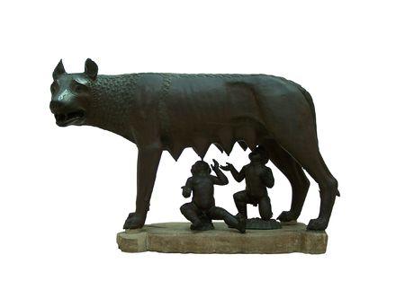 L'original de la statue du Capitole Wolf (Capitole mus�e)