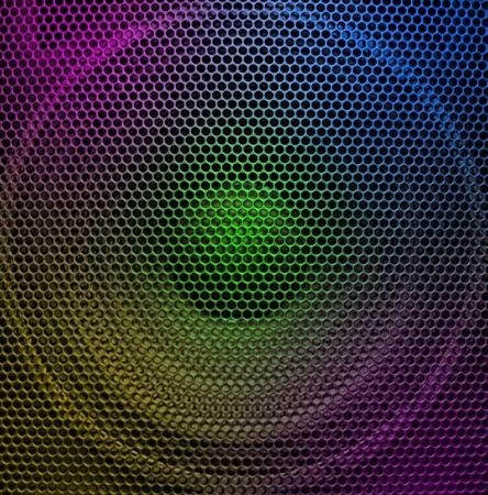 Concert audio speaker, closeup Stock Photo - 8444252