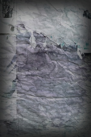 Abstract old paper playbill background photo