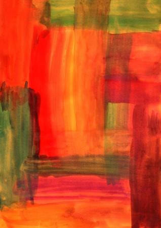 R�sum� Contexte dessin�es � la main en couleurs automnales Banque d'images