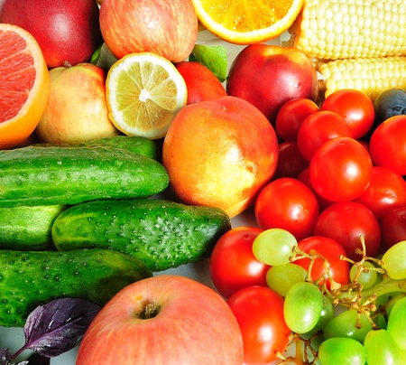Fruit and vegetables assortment