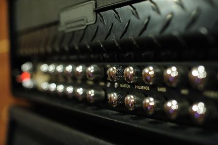 Guitar amplifier, head part Stock Photo - 10905684
