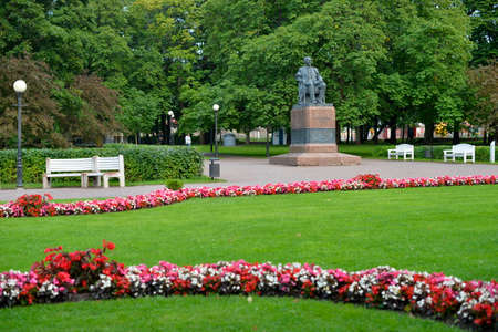 commissioned: August, 2015  - Tallinn, Estonia. Kadriorg  park in Tallinn is the Catherines Valley commissioned by the Russian Czar Peter the Great.
