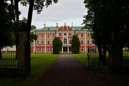 made russia: August, 2015 - Tallinn, Estonia. Kadriorg Palace in Tallinn is the Baroque palace of Catherine I of Russia.