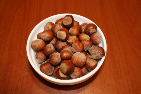 Nuts in a bowl photo