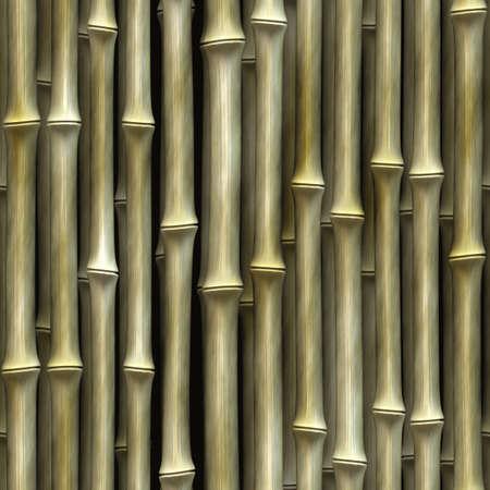 Seamless Bamboo Shoot Plant Wall Background  photo