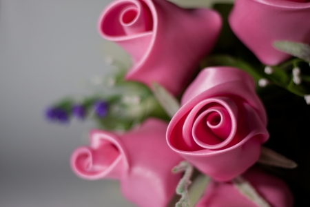 Artificial flowers Pink rose