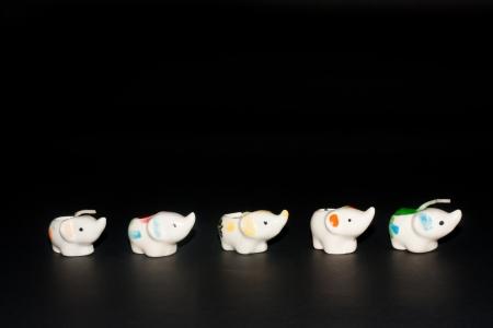 Ceramic elephant on the order of unity