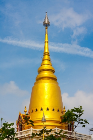 This is a golden pagoda Stock Photo - 14442601