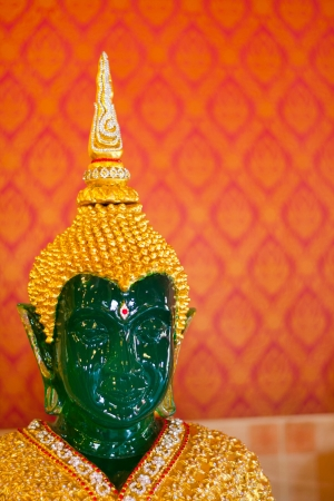 The head of the Emerald Buddha