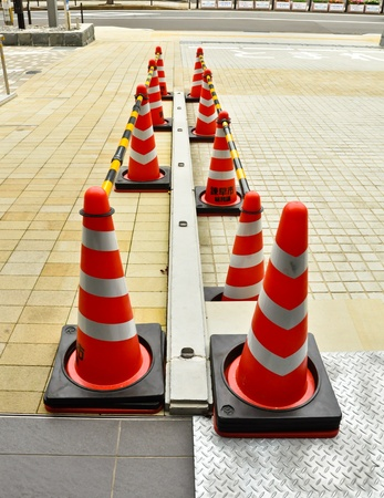 Traffic barrier photo