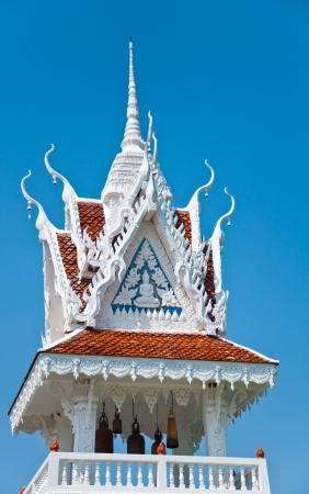 Tour de la Cloche de Tham Ku Ha Temple Swan dans Ubonratchathani, Tha�lande