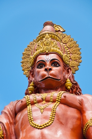 Hanuman statue at Shri Shri Hanuman Park in Kalimpong, Sikkim, India photo