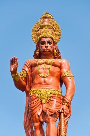 Statue de Hanuman � Shri Shri Hanuman parc � Kalimpong, Sikkim, Inde