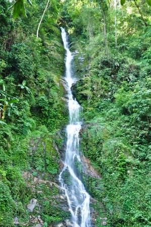 Waterfall in Pelling, Sikkim, India photo