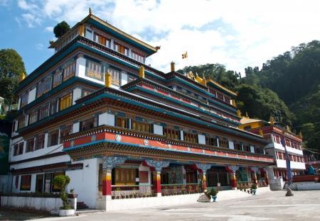 Druk Sa-Ngag Choeling Monastery in Darjeeling, India Stock Photo