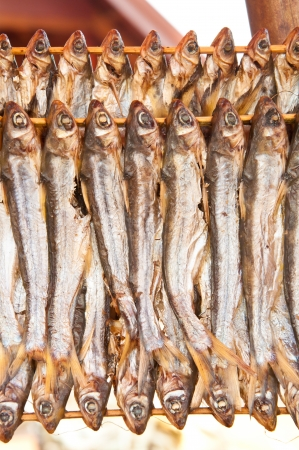 Stack of dried fish Stock Photo - 15947850