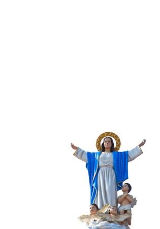 J�sus-Christ avec trois angles comme image isol�