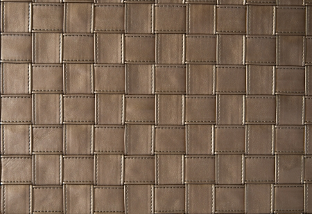 The Leather with stitch weave as background photo