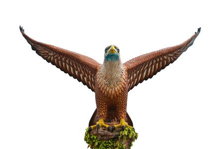 Le statut de l'aigle � Langkawi en Malaisie Banque d'images