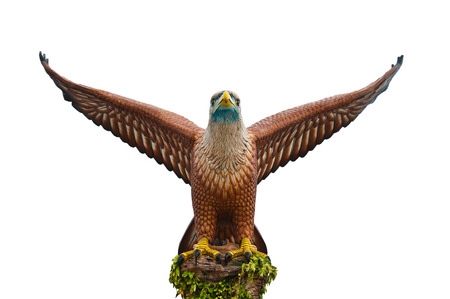 The status of eagle in Langkawi in Malaysia