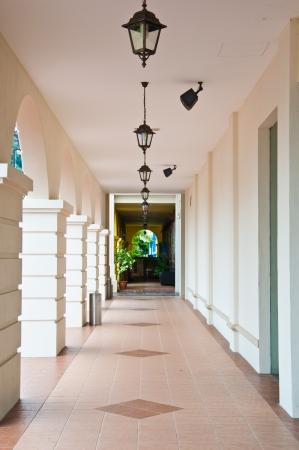 Le chemin de promenade