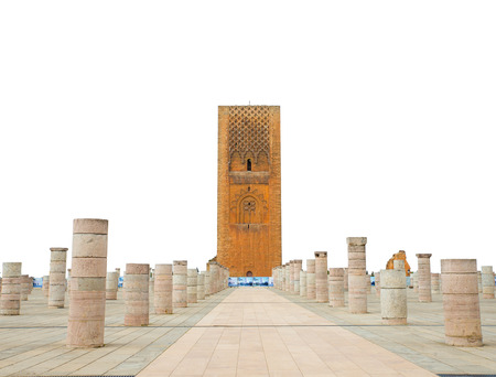 mausoleum: Hassan Tower at Mausoleum of Mohammed V in Rabat, Morocco