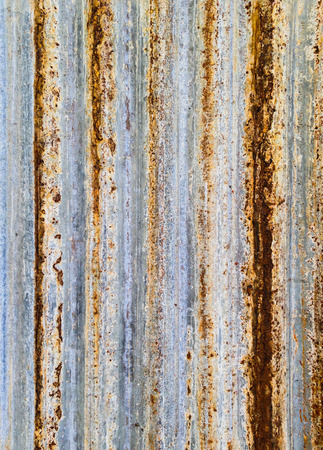abstracted: The old rusty zinc as abstracted picture for background